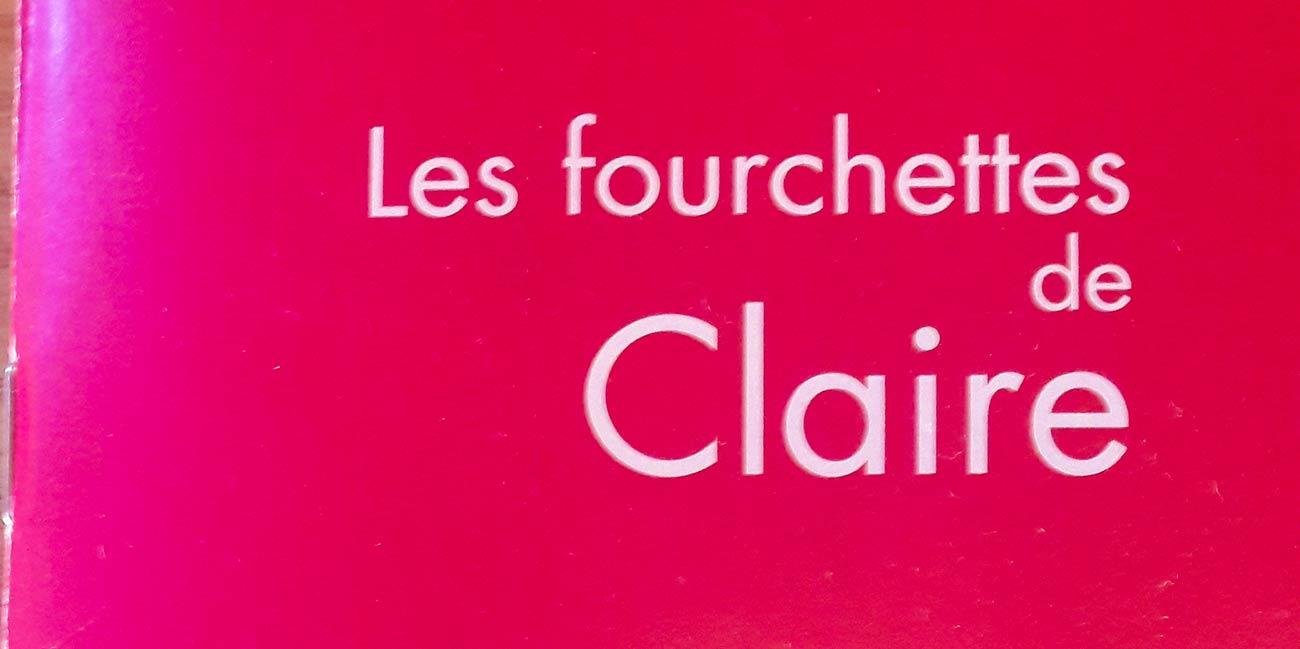 Les Fourchettes de Claire : Parution dans l'édition 2020-2021