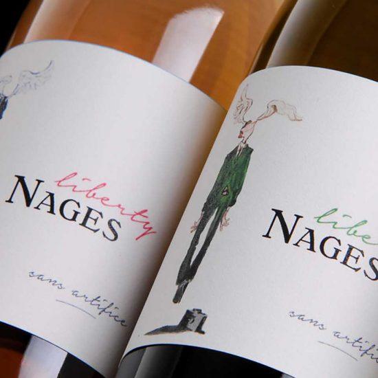 Liberty Nages - Château de Nages : Vin de France rouge